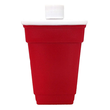 Red Plastic Cup Flask