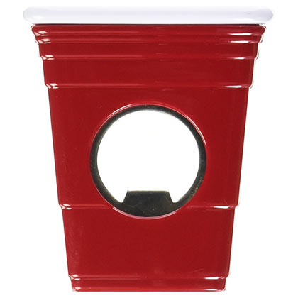 Red Solo Cup Bottle Opener Magnet
