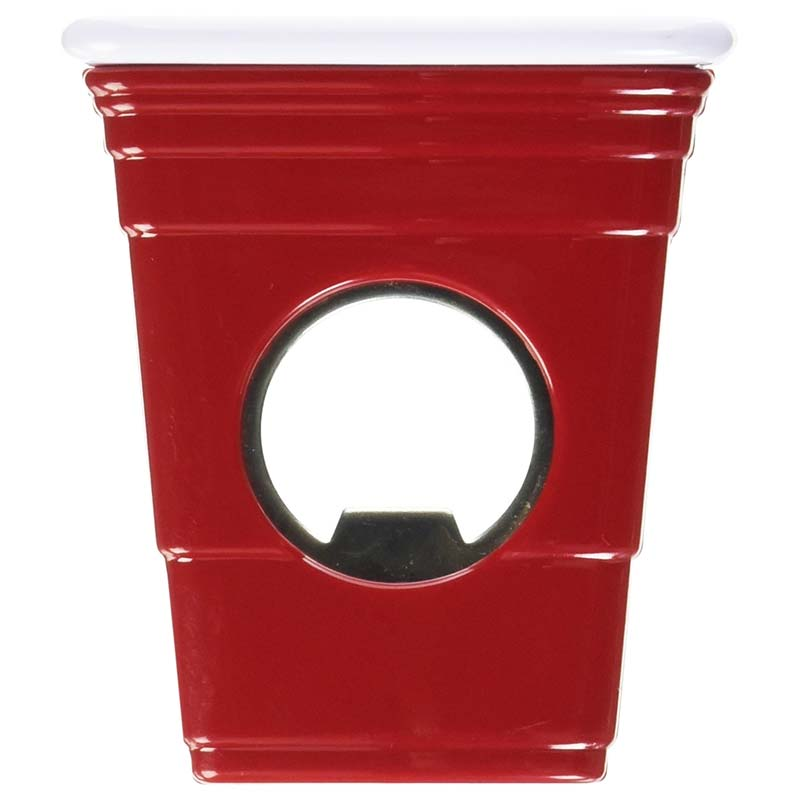 Red Solo Cup Magnetic Bottle Opener