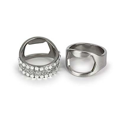 Redneck His And Hers Bottle Opener Rings