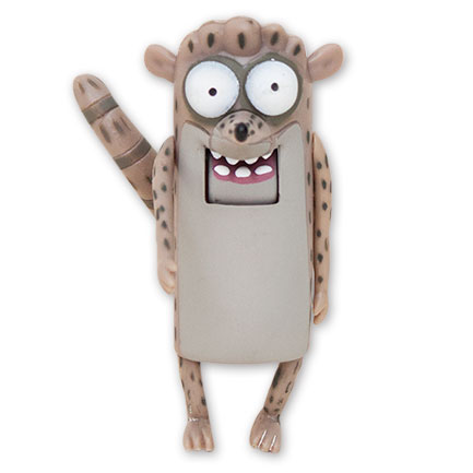 "Regular Show 3"" Rigby Action Figure"