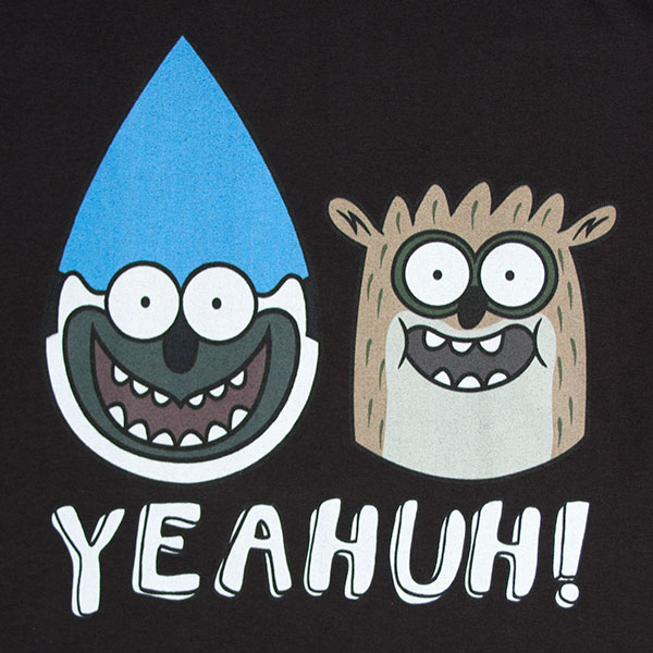 Regular Show Yeahuh Mordecai And Rigby T-Shirt