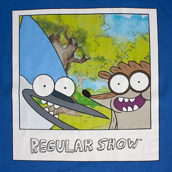 Regular Show Men's Polaroid Tee Shirt