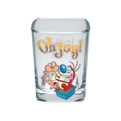 Ren And Stimpy Oh Joy Shot Glass
