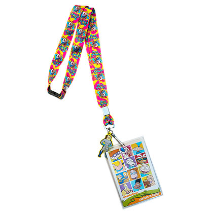 Nickelodeon Ren & Stimpy Card Holder Lanyard