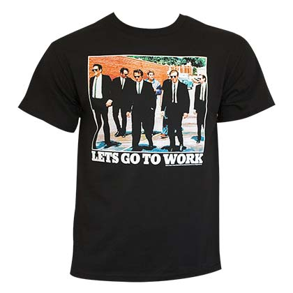 Reservoir Dogs Men's Black Let's Go To Work T-Shirt