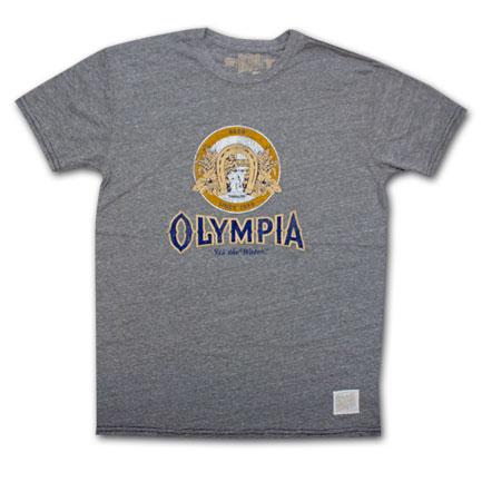 Olympia Beer Logo Vintage Men's Shirt