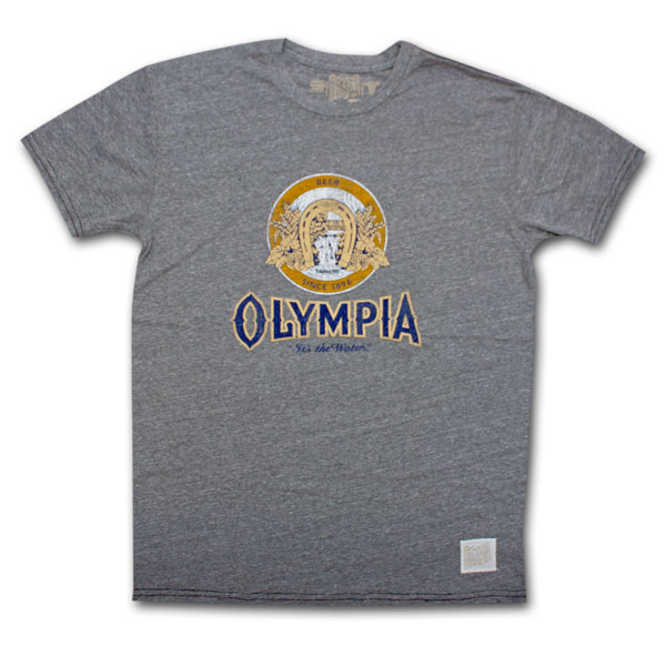 Olympia Beer Logo Vintage Men's Shirt
