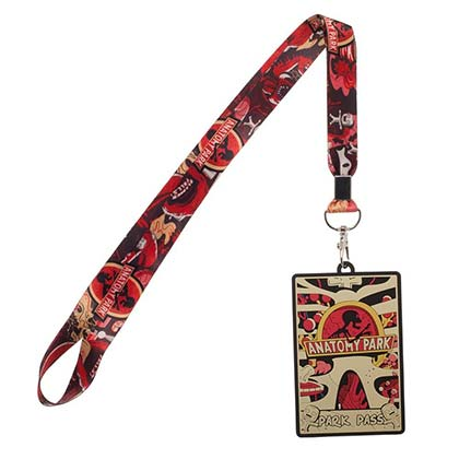 Rick and Morty Anatomy Park Lanyard