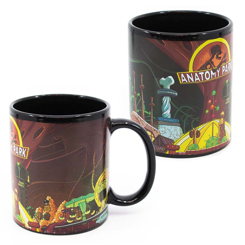 Cartoon Network Rick And Morty Anatomy Park 11oz Mug