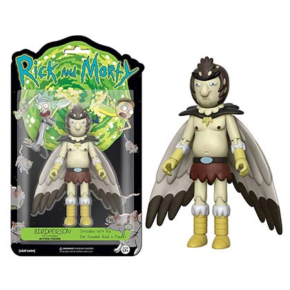 Funko Vinyl Rick And Morty Birdperson Action Figure