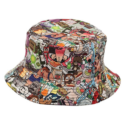 Rick And Morty Characters Bucket Hat
