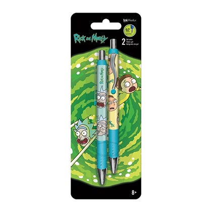 Rick And Morty Gel Pens