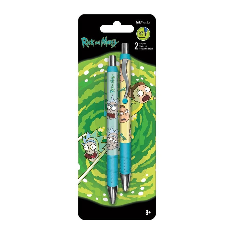 Rick And Morty 2 Pack Gel Pens