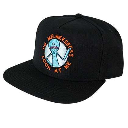 Rick And Morty Men's Black Mr. Meeseeks Snapback Hat
