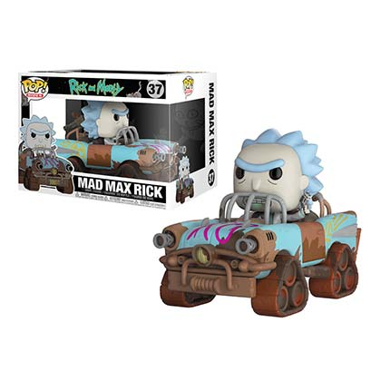 Rick And Morty Mad Max Premium Rick Funko Pop Figure
