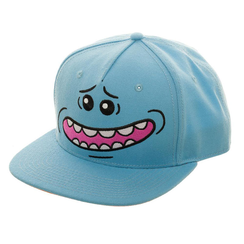 Rick And Morty Mr. Meeseeks Smile Blue Hat