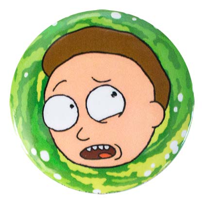 Rick And Morty Green Morty Button