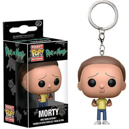 Funko Pop Rick And Morty Keychain