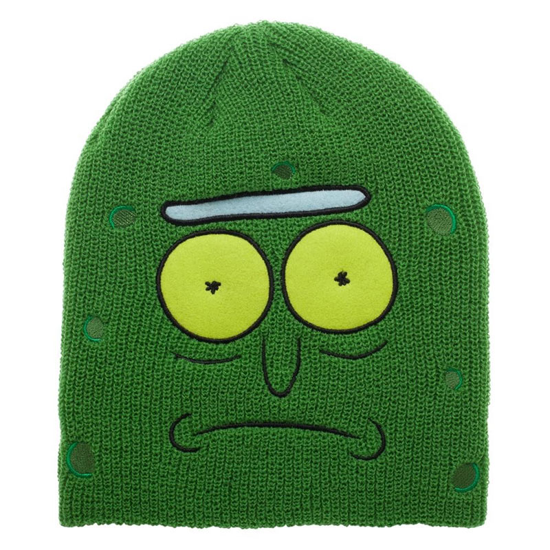 Rick and Morty Pickle Rick Beanie