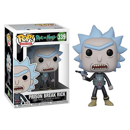 Rick And Morty Funko Vinyl Prison Break Rick Figure