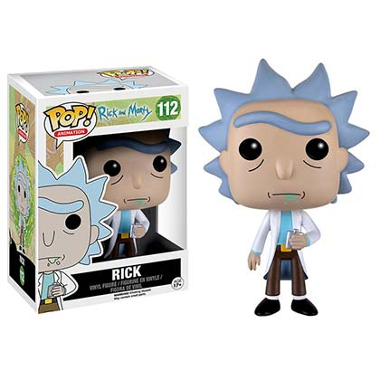 Rick And Morty Funko Vinyl Rick Figure