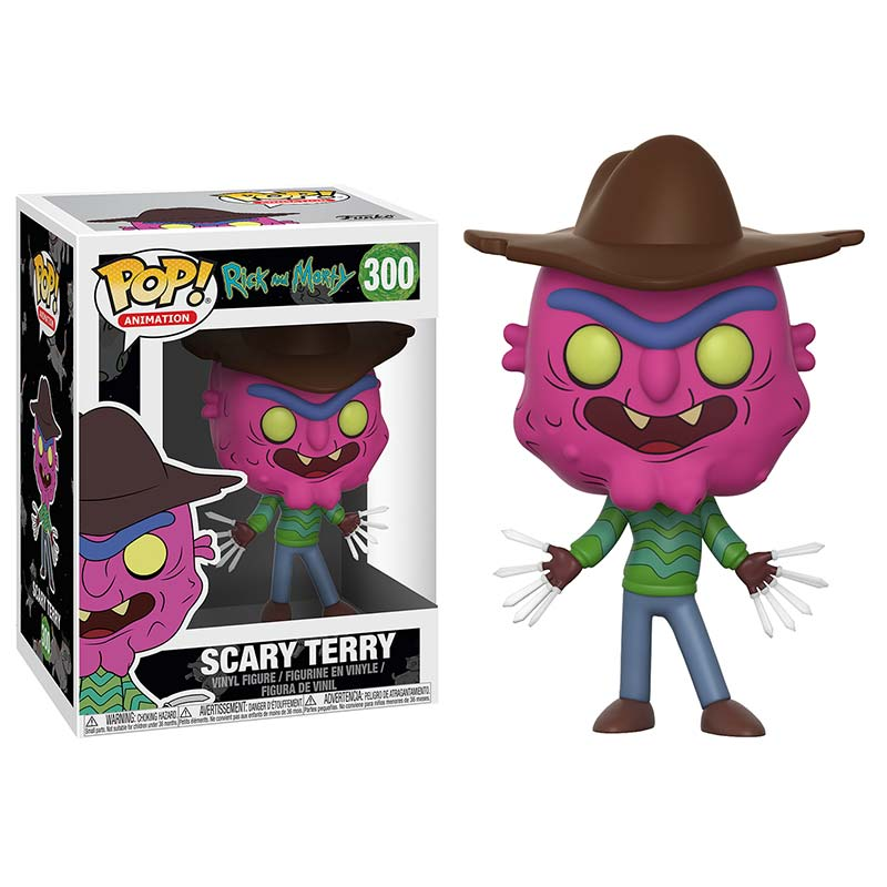 Rick And Morty Funko Pop Scary Terry Vinyl Figure