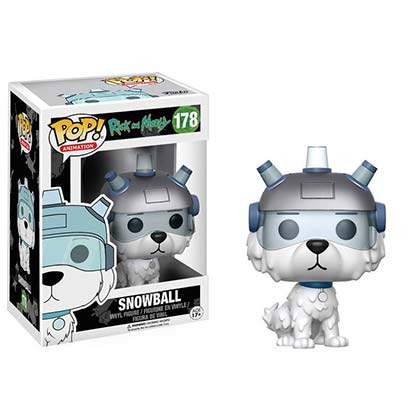 Rick And Morty Snowball Funko Pop Vinyl Figure