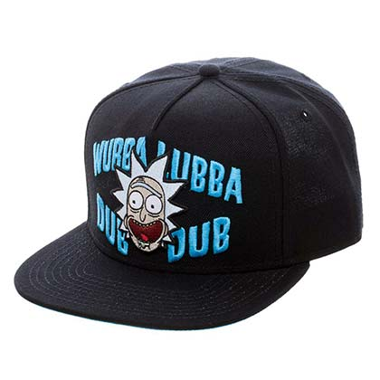 Rick And Morty Wubba Snapback Hat