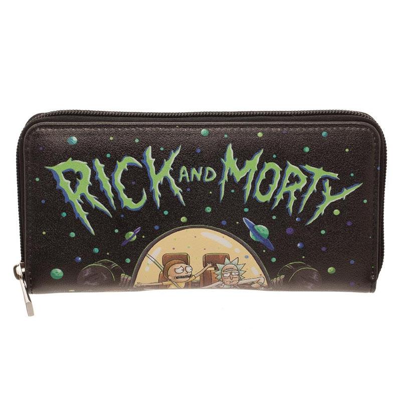 Rick And Morty Women's Zip Wallet