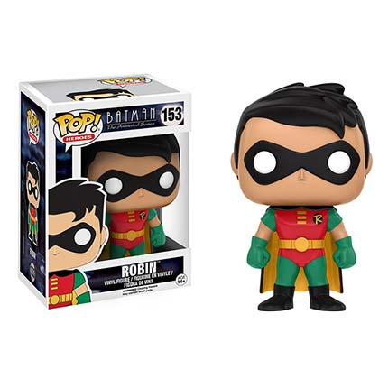 Funko Pop Vinyl Robin Animated Figure