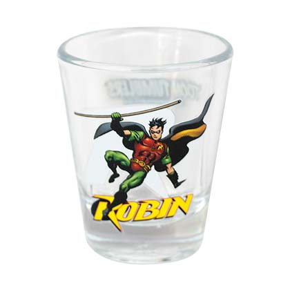 Robin Character Shot Glass