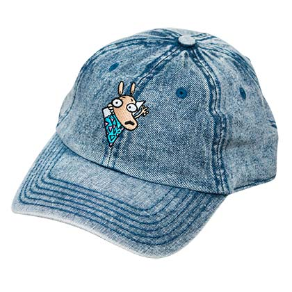 Rocko's Modern Life Adjustable Denim Dad Hat