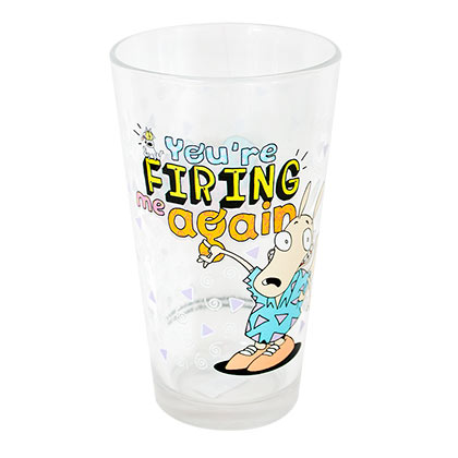 Rocko's Modern Life Firing Pint Glass