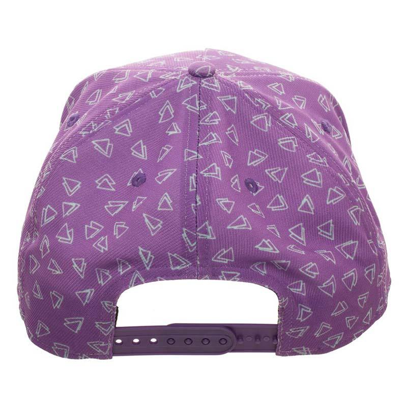1e423d56 Rocko's Modern Life Purple Embroidered Snapback Hat | TVMovieDepot.com