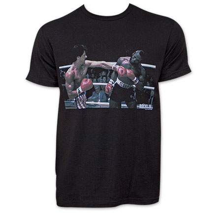 Rocky Black Mr. T Left Hook Tee Shirt