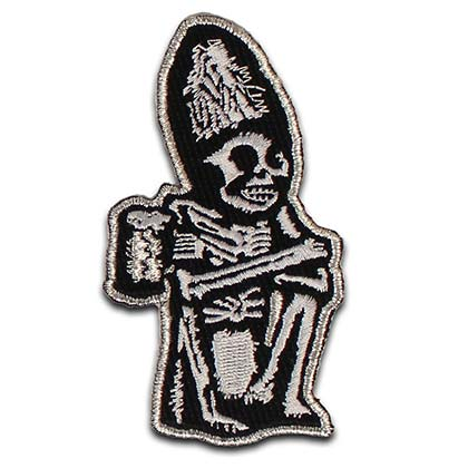 Rogue Dead Guy Iron On Patch