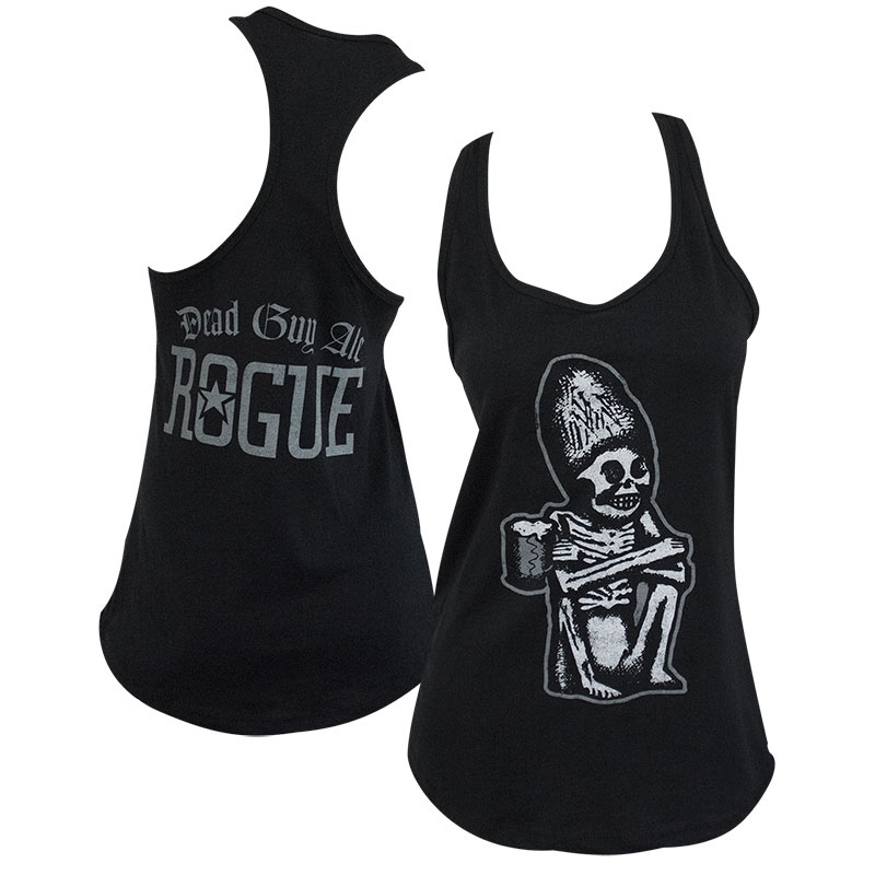 Dead Guy Black Racerback Women's Tank Top