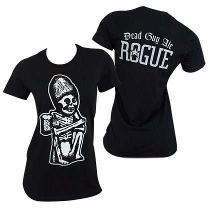 Dead Guy Ale Women's Black Rogue T-Shirt