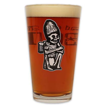 Rogue Dead Guy Ale Logo Pint Glass