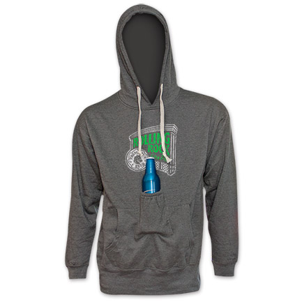 Rolling Rock Logo Beer Pouch Hoodie