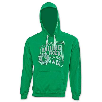 Rolling Rock Logo Green Hoodie