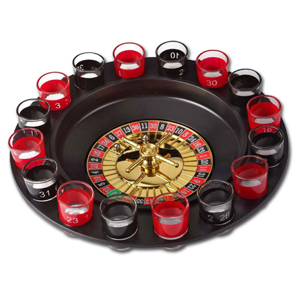 Roulette Shot Glass Drinking Game
