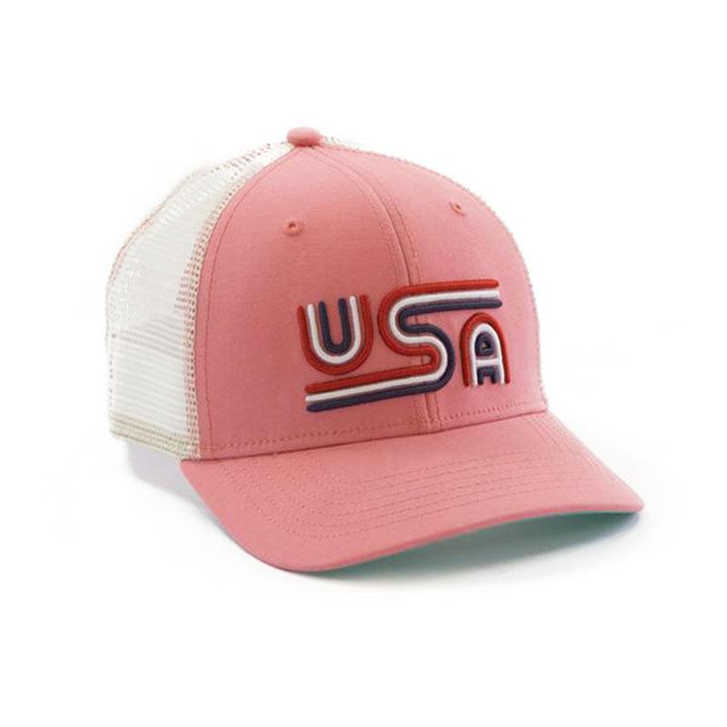 Rowdy Gentleman Patriotic USA Mesh Trucker Hat