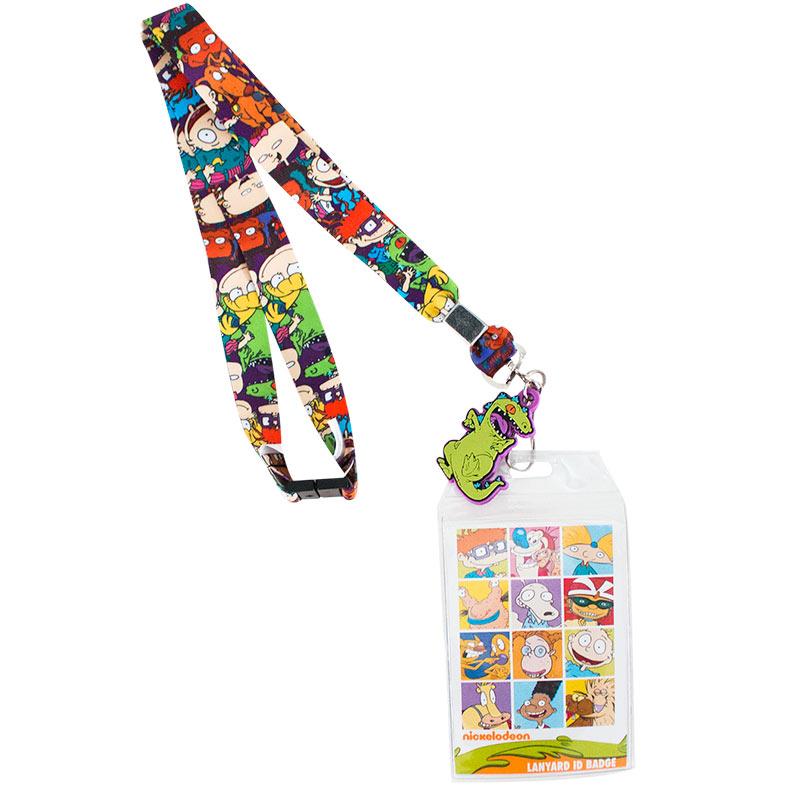 Nickelodeon Rugrats Characters Lanyard Badge Holder
