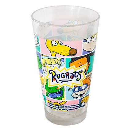 Rugrats Tumbler Pint Glass