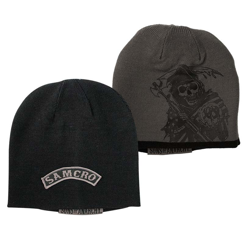 Sons Of Anarchy Reversible SAMCRO Beanie