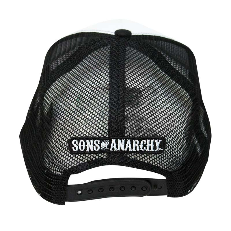 sons of anarchy samcro trucker hat. Black Bedroom Furniture Sets. Home Design Ideas