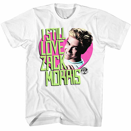 Saved By The Bell Always White Tee Shirt