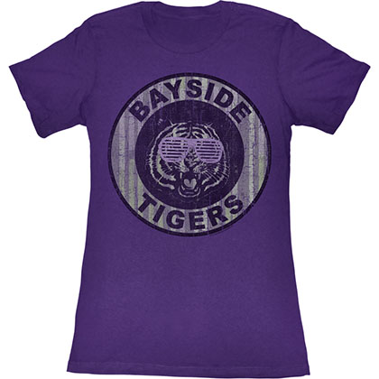Saved By The Bell Pinstripe Bayside T-Shirt